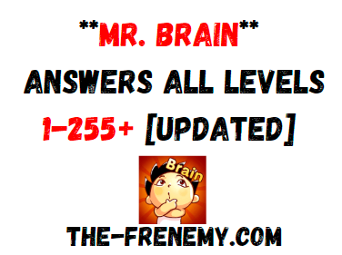 Mr Brain Answers All Levels