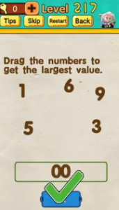 Mr Brain Level 217 Answers Puzzle