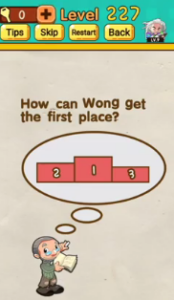 Mr Brain Level 227 Answers Puzzle
