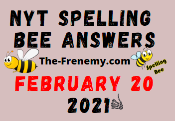 Nyt Spelling Bee February 20 2021 Answers