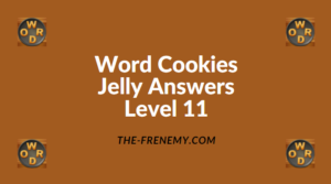 Word Cookies Jelly Level 11 Answers