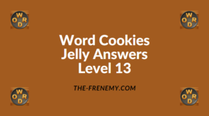 Word Cookies Jelly Level 13 Answers