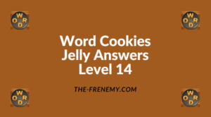 Word Cookies Jelly Level 14 Answers