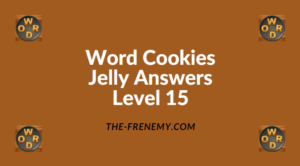 Word Cookies Jelly Level 15 Answers