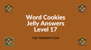 Word Cookies Jelly Level 17 Answers