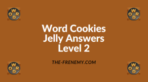 Word Cookies Jelly Level 2 Answers