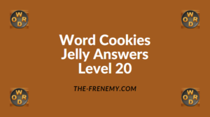 Word Cookies Jelly Level 20 Answers