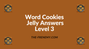 Word Cookies Jelly Level 3 Answers