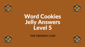 Word Cookies Jelly Level 5 Answers