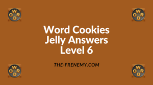 Word Cookies Jelly Level 6 Answers