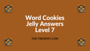 Word Cookies Jelly Level 7 Answers