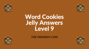 Word Cookies Jelly Level 9 Answers