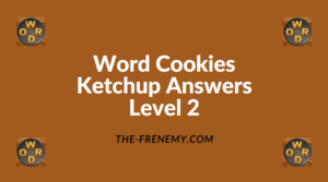 Word Cookies Ketchup Level 2 Answers