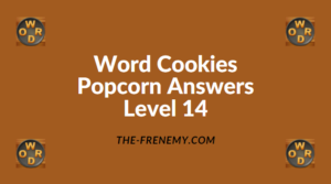 Word Cookies Popcorn Level 14 Answers