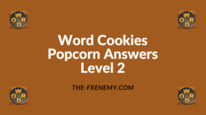 Word Cookies Popcorn Level 2 Answers
