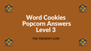 Word Cookies Popcorn Level 3 Answers