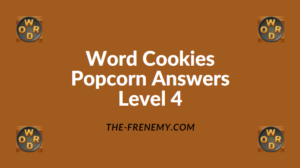 Word Cookies Popcorn Level 4 Answers