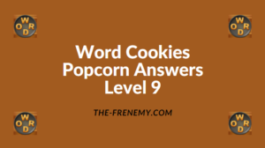Word Cookies Popcorn Level 9 Answers