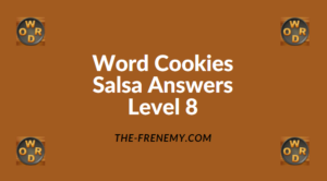 Word Cookies Salsa Level 8 Answers