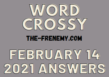Word Crossy February 14 2021 Answers