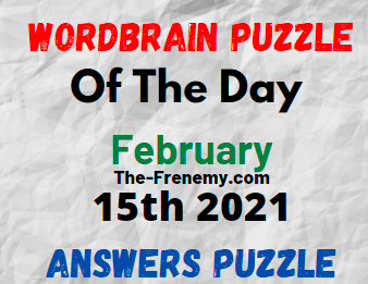 Wordbrain Puzzle of the Day February 15 2021 Answers Puzzle