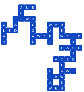 Wordscapes Dry 3 Level 11763 Answers
