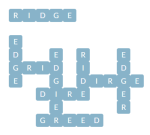 Wordscapes River 8 Level 12616 Answers