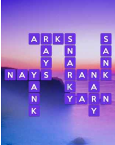 Wordscapes Sea 15 Level 3407 answers