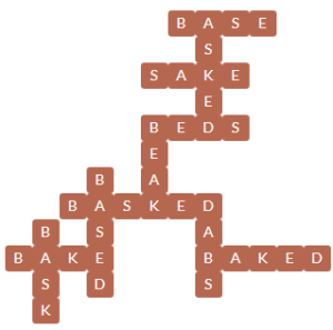 Wordscapes Seed 4 Level 11828 Answers
