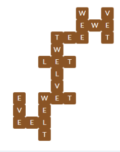 Wordscapes Sky 6 Level 11782 Answers