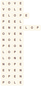 Wordscapes Thick 13 level 9053 answers