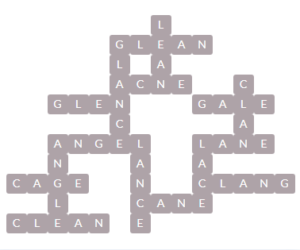 Wordscapes Wall 13 Level 11885 Answers