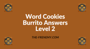 Word Cookies Burrito Level 2 Answers