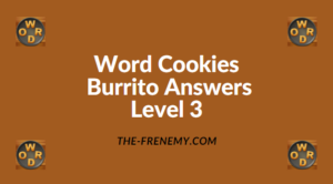 Word Cookies Burrito Level 3 Answers