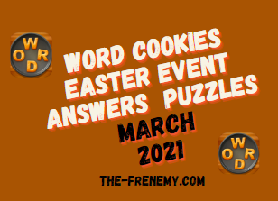 Word Cookies Easter Event March 2021 Answers Puzzle