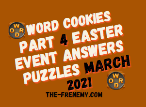 Word Cookies Easter Event Part 4 March 2021 Answers Puzzle