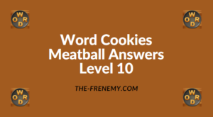 Word Cookies Meatball Level 10 Answers