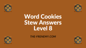 Word Cookies Stew Level 8 Answers