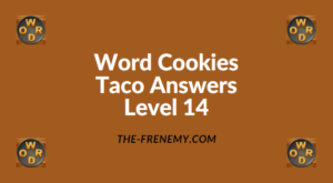 Word Cookies Taco Level 14 Answers