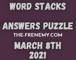 Word Stacks March 8 2021 Answers