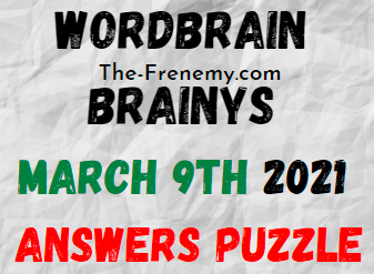 Wordbrain Brainys March 9 2021 Answers