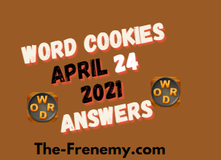 Word Cookies Bake Off April 24 2021 Answers Puzzle Daily