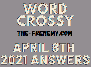 Word Crossy April 8 2021 Answers