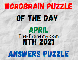Wordbrain Puzzle of the Day April 11 2021 Answers