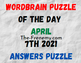 Wordbrain Puzzle of the Day April 7 2021 Answers