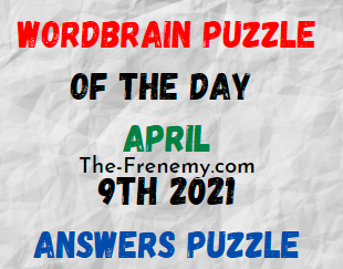 Wordbrain Puzzle of the Day April 9 2021 Answers Solution