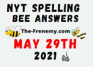 Nyt Spelling Bee Daily May 29 2021 Answers