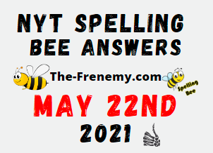 Nyt Spelling Bee May 22 2021 Answers