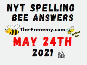 Nyt Spelling Bee May 24 2021 Answers