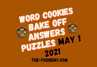 Word Cookies Bake Off May 1 2021 Answers Puzzle